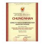 Huy Hoang Key Certification
